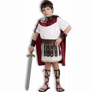 🆕 GLADIATOR Child Boy Costume Roman Warrior 8-10